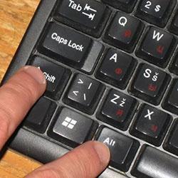 Как переключить язык на клавиатуре