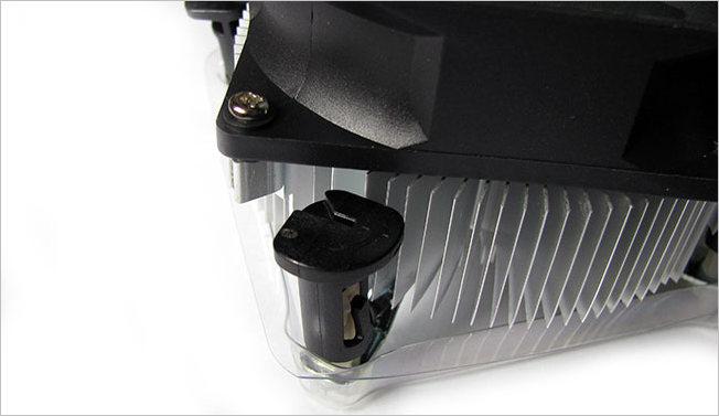 Крепления радиатора охлаждения CPU