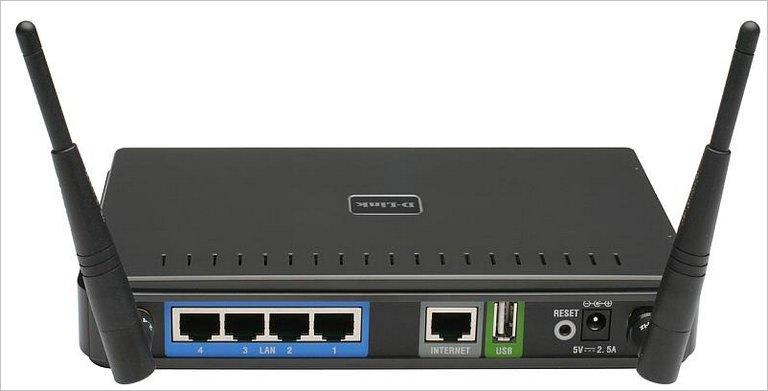 Wi-Fi роутер D-Link DIR-628 с портом USB