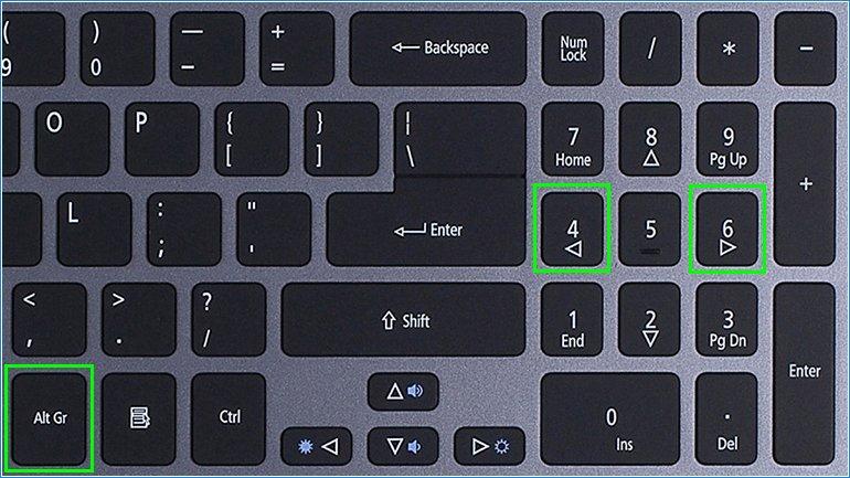 "Ставим значок собаки комбинацией горячих клавишь ""Alt+64"""