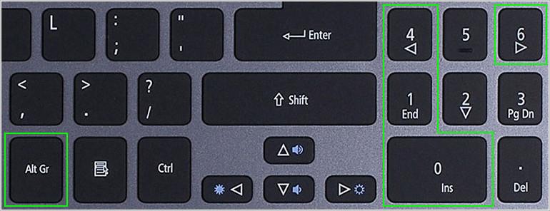 Горячие клавиши для ввода апострофа